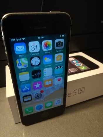 IPhone 5S Space Gray fullbox